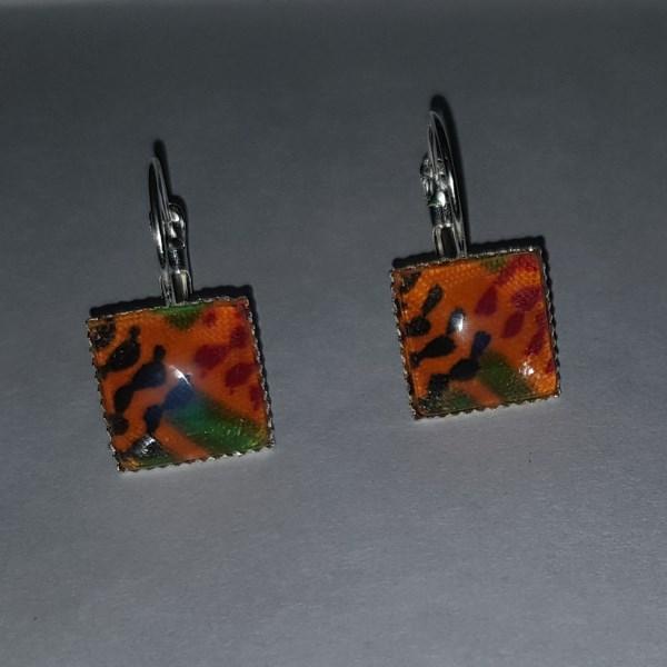 GCA Collection Kente Earrings