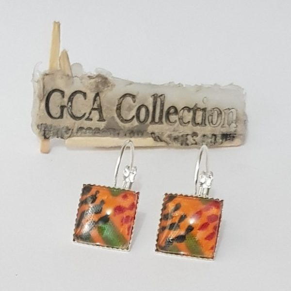 GCA Kente Earrings Signature
